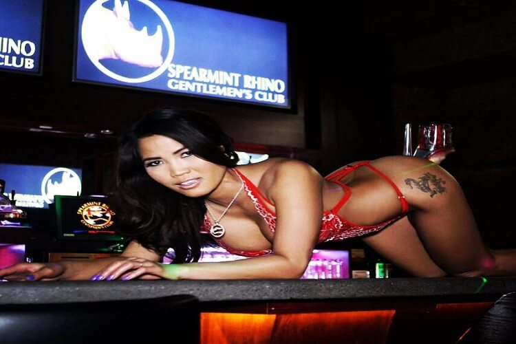 Spearmint Rhino is a chain of strip clubs that operates venues throughout the United States, United Kingdom, and Australia. The club opened in as a supplement to the existing Peppermint Elephant Restaurant. This first Spearmint Rhino was located in Upland, California. [citation needed.